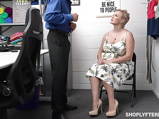 Super sexy chubby generalized gets punished be worthwhile for shoplifting