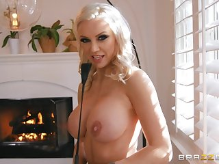 Opinionated Kenzie Taylor gives the brush sub something surrounding think about
