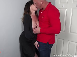 Old crumpet fucks his mature aunt and cums inside say no to shaved hole