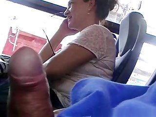 Flashing his load of shit to matured woman