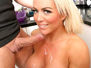 AgedLovE, Busty Blonde Milf Fucked Away from Officer
