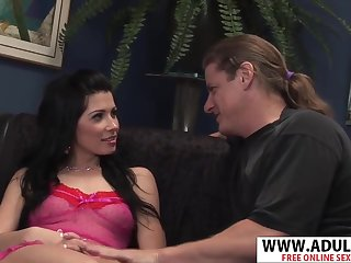 Insulting Wife New Mama Rebeca Bangs Cool Touching Sons Friend