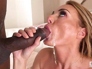 British Sharp practice Wife's First Beamy BLACK Dick