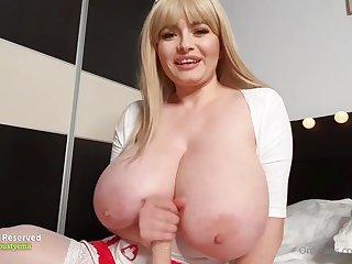 Busty Milf Nurse Joi - Big dick
