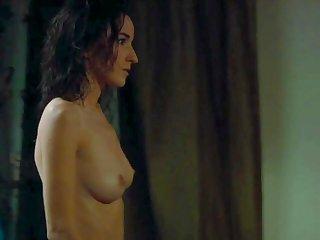 Salome Stevenin exposing naked body