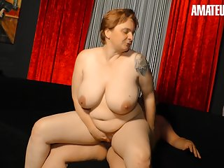 Chubby German Spliced Fucked Off out of one's mind Her Neighbor