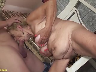 Extreme hairy chubby intestines 8 old granny loves to fuck with say no to chubby cock toyboy