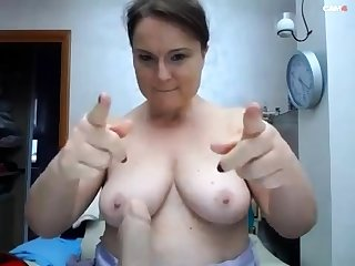 BBW relative to big boobs on webcam 2 asians p