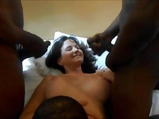 Real Cuckold Spliced Big Black Dicks Homemade Sex