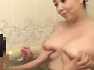 Mature Japanese Step Ma Playing With 2 Boys