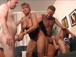 What slut fundament resist a nice orgy and these gentry are quite mature