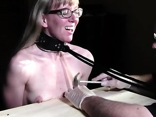 Blonde German slut in consolidated GB unconnected with hardcoredom