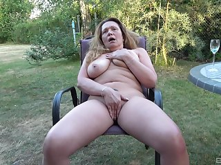 Full amateur back yard solo porn with a difficulty dirty aunt