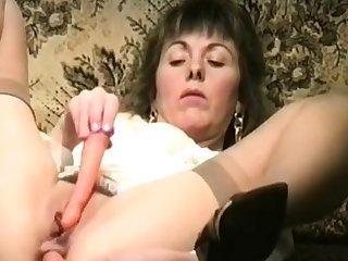 Slut girl wad DP.