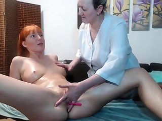 Hot amateur lesbian kneading and ID card