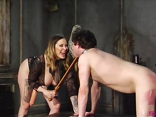 Maitresse Madeline Marlowe is a Domme you don't want close to fuck with