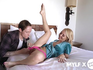 This MILF likes dick close to both holes added to she likes it hard