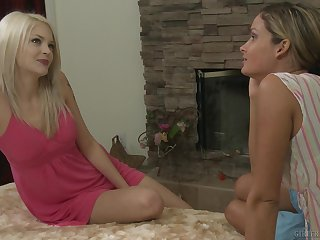 Prinzzess suffered  her tread friend to fuck with Bree Daniels