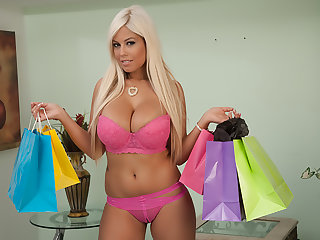 Bridgette B. buys lingerie to realize fucked in by her Sugar Sky pilot