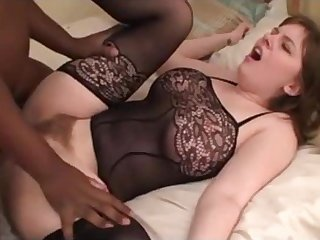 Whore tie the knot with flimsy cunt fuck with BBC