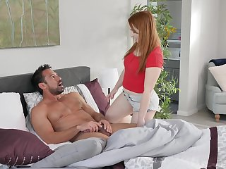 Hot daddy Johnny Castle fucks adult stepdaughter Cleo Clementine