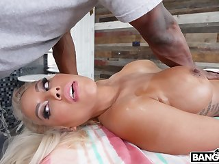 Spanish Doll Buttfucked By Bbc