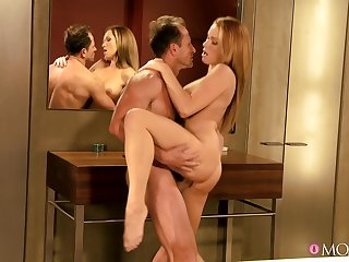 Ergo personal arousing positions for sultry stunner Stacy Silver