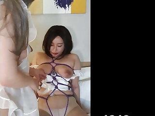 Naff Korean Lesbians pleasure each other