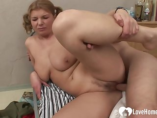 Busty Babe Gets Fucked In Hardcore Shape