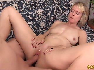 Golden Slut - Rabbi Fucking With an Older Woman Compilation