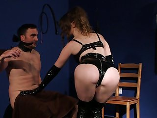 Nothing but pure domination with a woman turn this way looks perfect