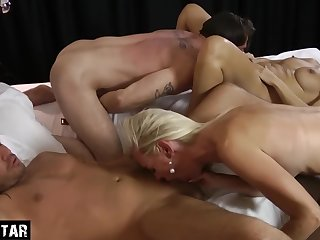 Kinky Swinger Party With Three German Milfs